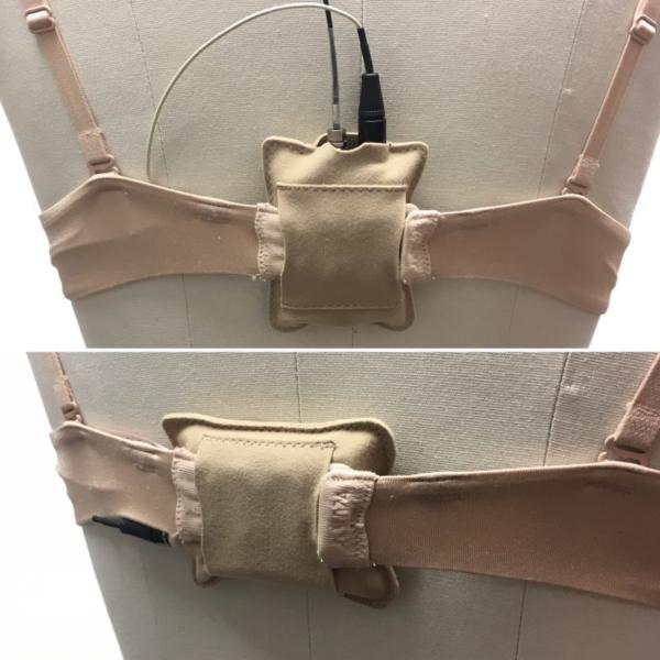URSA Belt Pouch Attached to Bra
