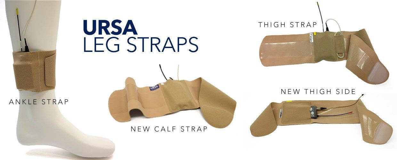 URSA Leg Straps - Ankle, Calf, Thigh and Thigh Side