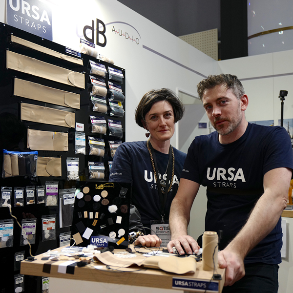 Simon and Laura from URSA Straps