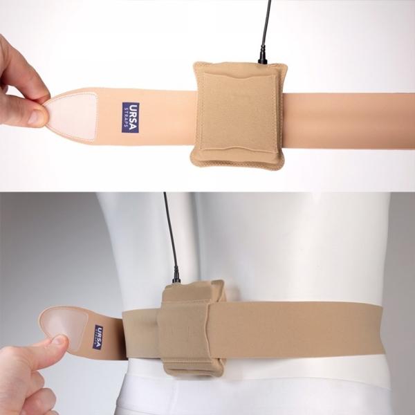 URSA Belt Pouch Beige on URSA Belts