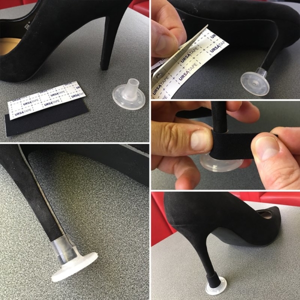 URSA Tape Use Heel Montage
