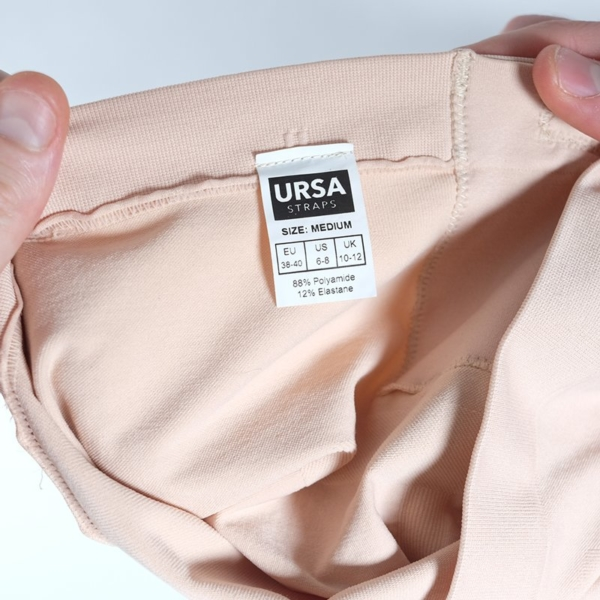 URSA Shorties Beige Medium Label