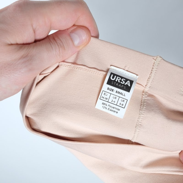 URSA Shorties Beige Small Label