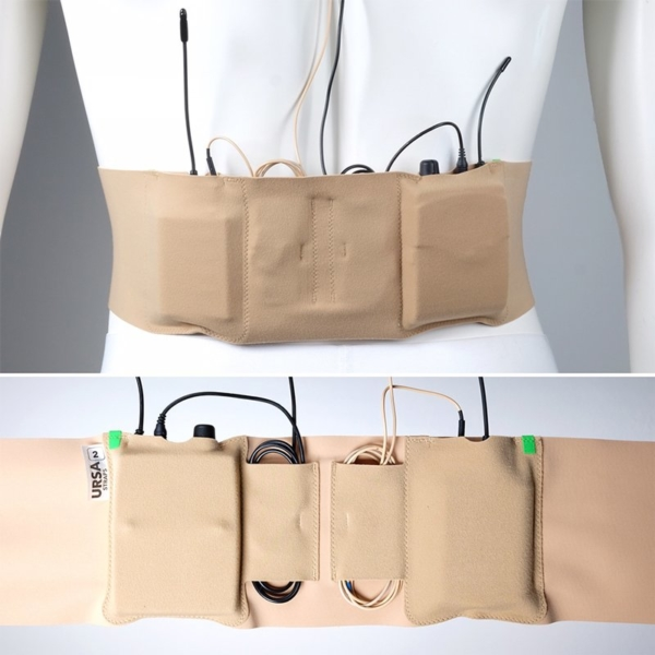 Ursa Waist Strap Double Pouch Packs Bodyworn Montage