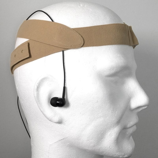 URSA Head Straps on Dummy Side Back Beige