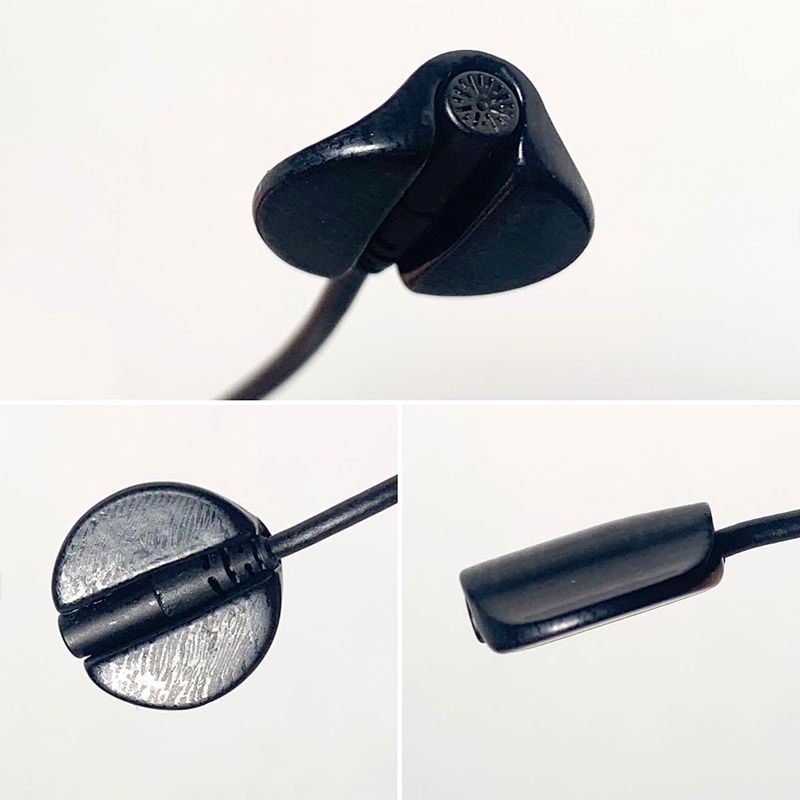 Circular MiniMount Black DPA6060 Montage